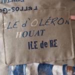 sac à dos bleu denim La Rochelle-Ré