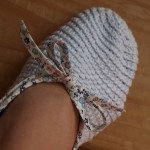 Chaussons Liberty au crochet