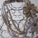 Collier Pacotille en tricotin