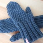 Mitaines Alexandra tricotées main