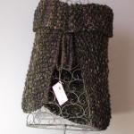 cache-épaules tricoté main Médiéval