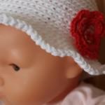 chapeau crochet Clafoutis
