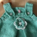 Robe tricotée main Maëlle
