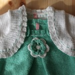 ensemble layette tricot main Malle