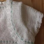 boléro tricoté main Maëlle
