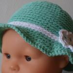 chapeau bébé tricoté main Maëlle