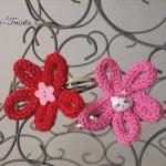 barrettes tricotin