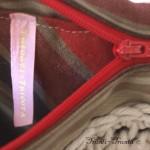 sac à bandoulières tricot/tissu