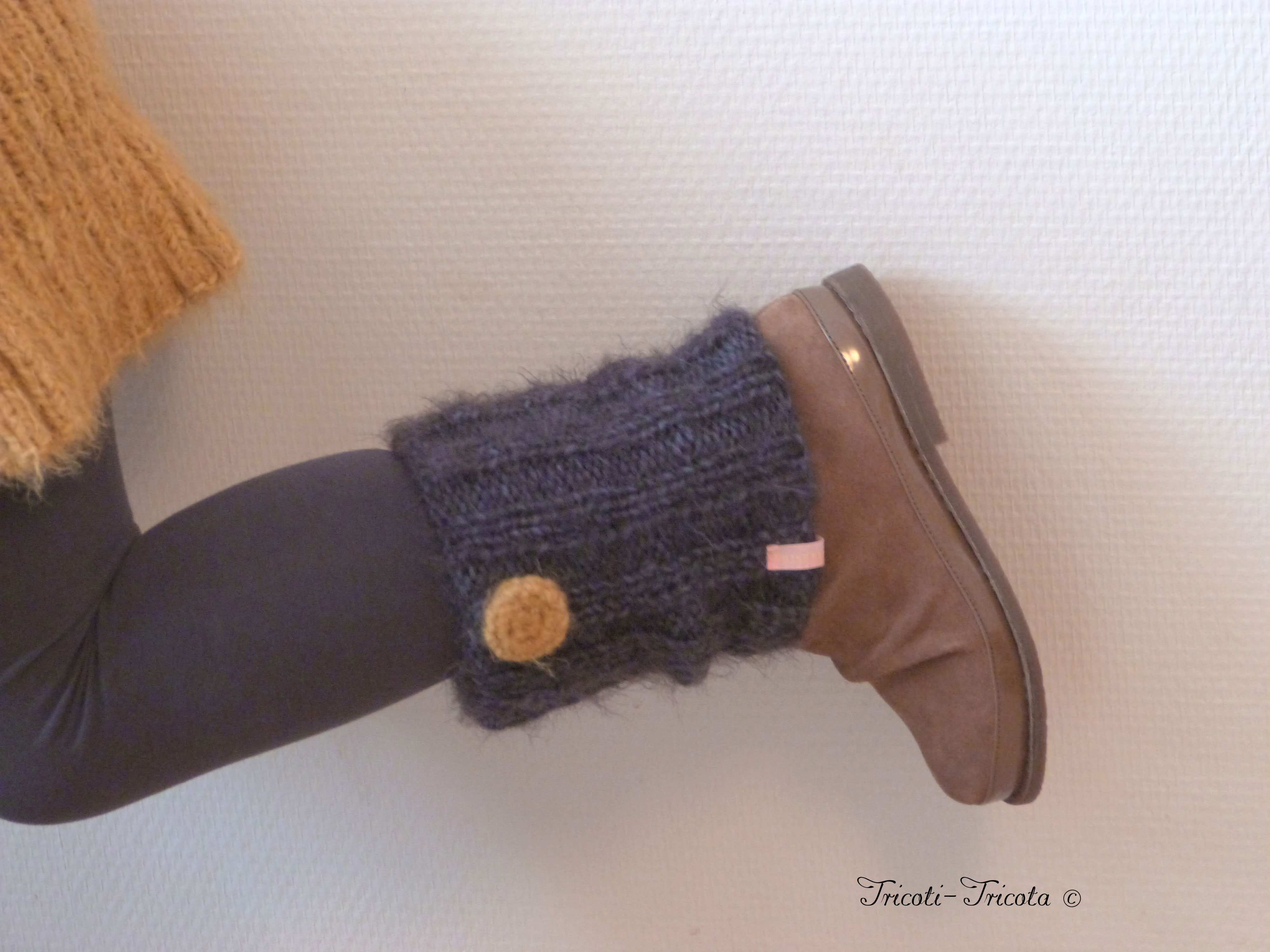 tricot guetre fille