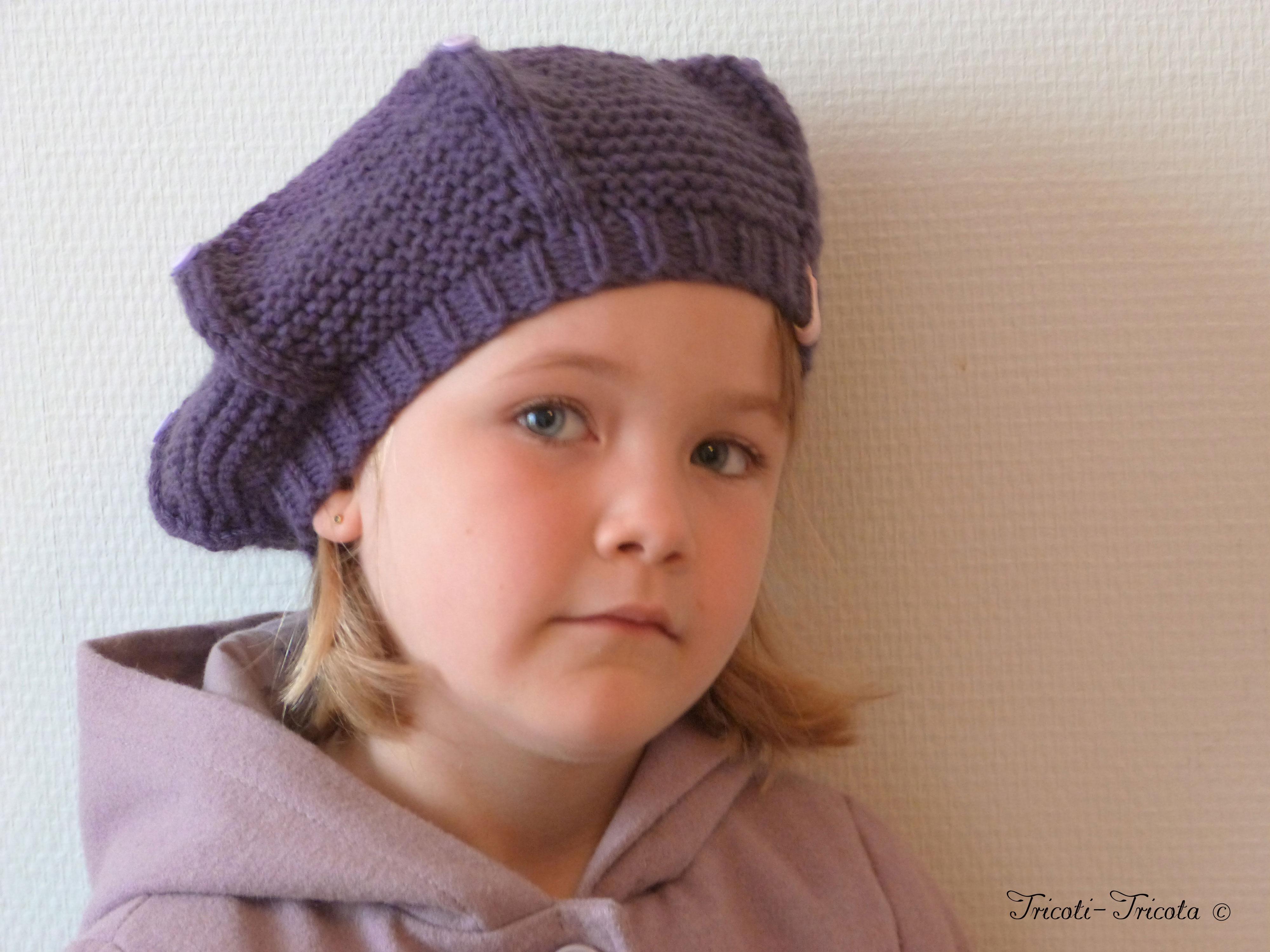 b ret mousse tricot pour enfant tricoti tricota. Black Bedroom Furniture Sets. Home Design Ideas