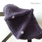 Béret tricoté pour enfant