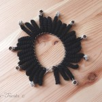 bracelet pampilles au crochet