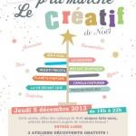 Le p'tit marché créatif de noël_Conjoint Friendly_La Rochelle
