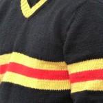 pull laine acrylique années 70