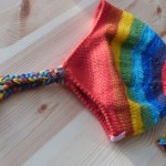bonnet Rainbow tricot laine Plassard