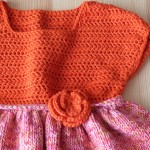 robe tricot fille Phildar