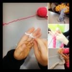 Tricot à doigt