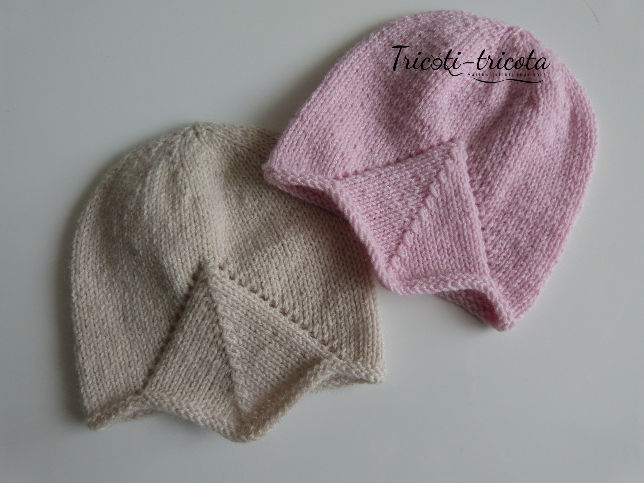 Future maman, vous êtes vers la fin de votre grossesse et dans la liste des  vêtements de bébé à apporter à la maternité il y a le fameux bonnet pour ... 715e349f509